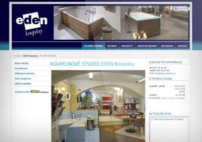 Koupelnové studio Praha, Eden koupelny