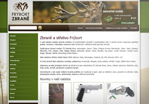 Zbraně a střelivo Frýbort